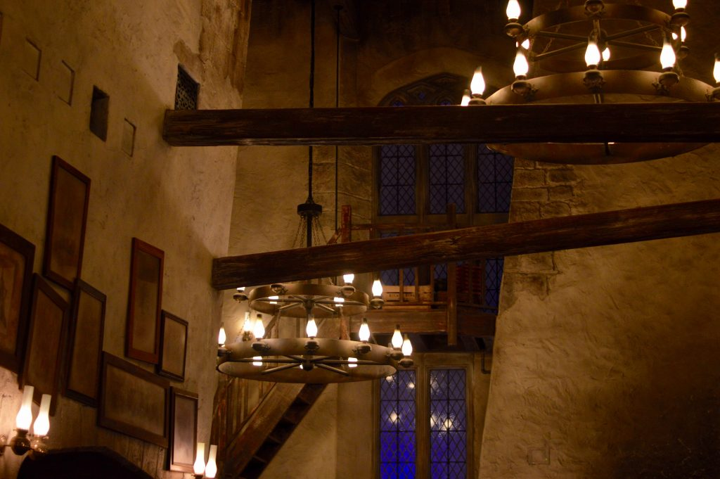 Leaky cauldron interior